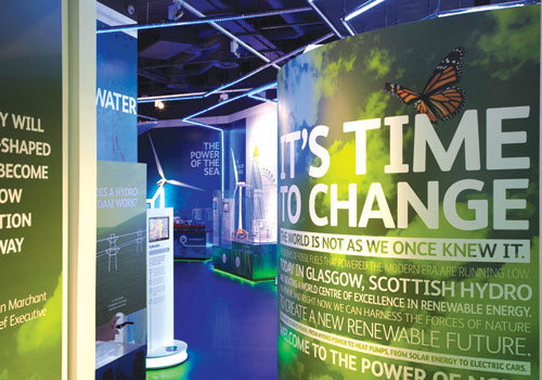 Exhibitions & Events Signage for Edinburgh